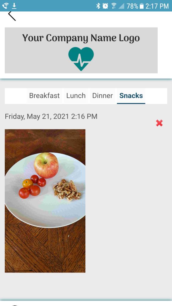 Nutrition Now phone app